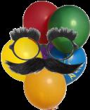 Balões mascarados png