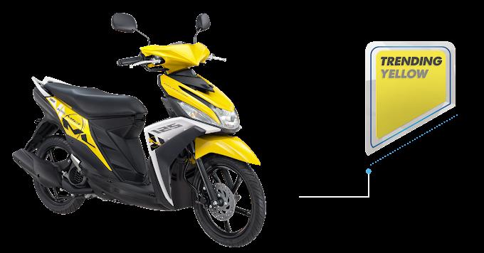 Kuning dan Hitam Jadi Warna Favorit Mio M3 125