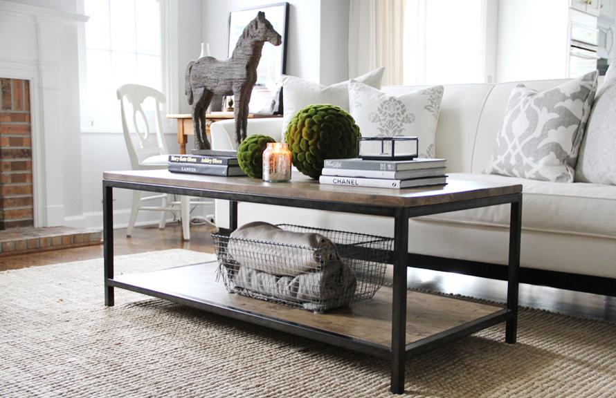 Pabla en casa c mo decorar tu mesa de centro - Decorar mesa salon ...