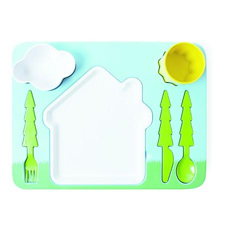 Utensilios De Cocina Bandeja Infantil Para Comer