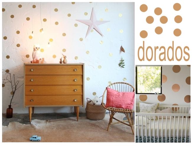 Muxugorri blog habitaciones infantiles lunares - Vinilos lunares dorados ...