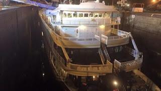 Saint Laurent cruise ship accident