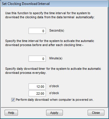 TCMS Error Message and Solutions | FingerTec Technical Blog