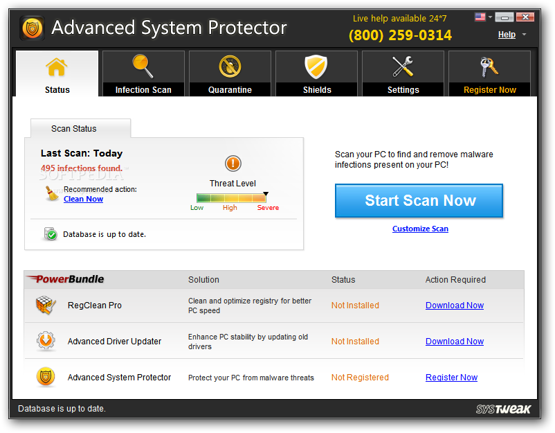 Advanced System Protector 2.1.1000.13627 With Serial Key