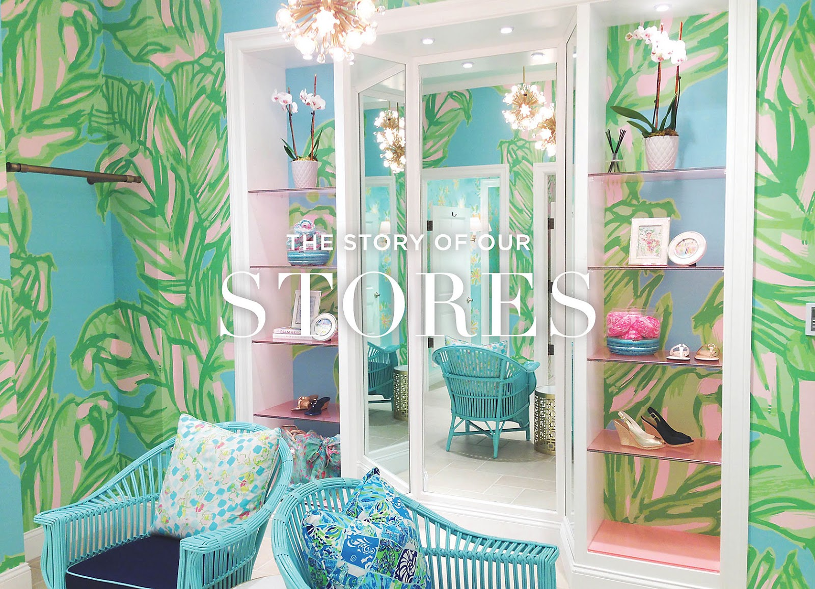 haute indoor couture lilly pulitzer wallpaper. Black Bedroom Furniture Sets. Home Design Ideas