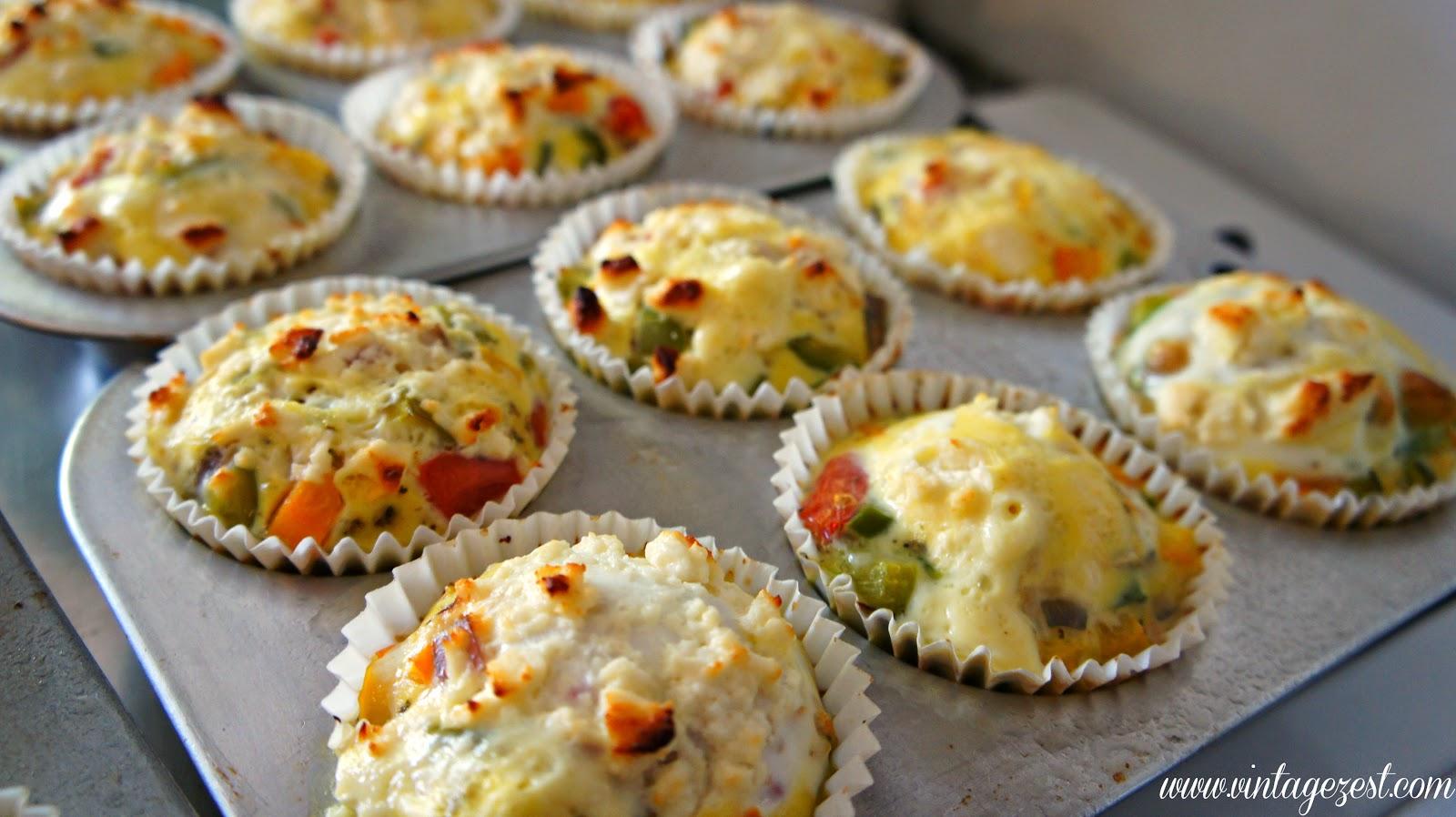 Favorite Breakfast #2: Egg and Veggie Muffins