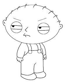 Family  Coloring Pages on Simple Family Guy Coloring Pages For Kids