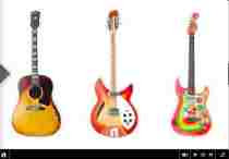 Las guitarras de George Harrison llegan al iPad The Guitar Collection George Harrison