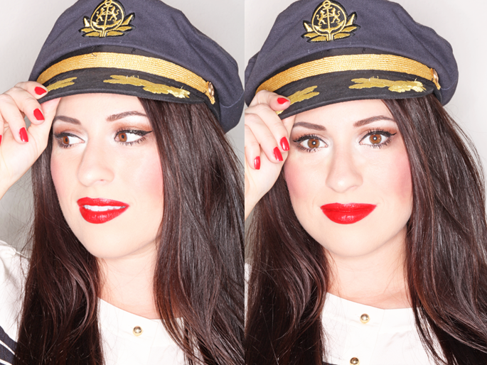 captains-hat-red-lipstick-stila-red-nailpolish-nautical-style-san-diego-beauty-blogger