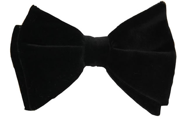 The Problem With Photographing Velvet Bow Ties    Man Bow Tie Silhouette