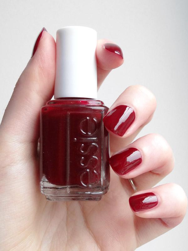 beauty gibberish 10 vernis rouges pour des ongles rubis. Black Bedroom Furniture Sets. Home Design Ideas