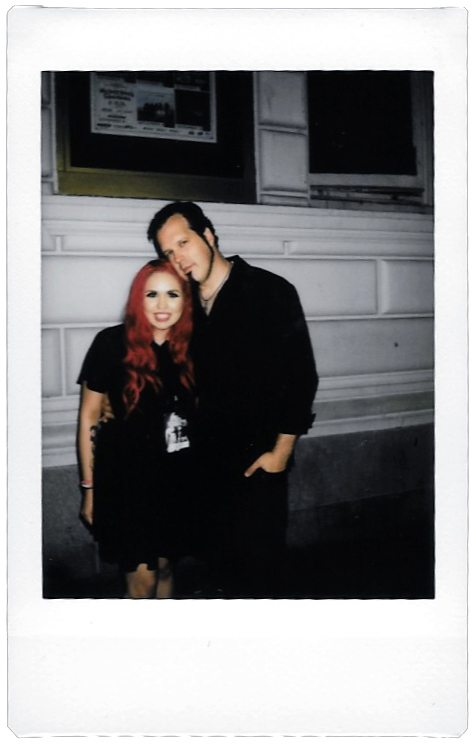 Going to Hell Tour '14 Polaroid