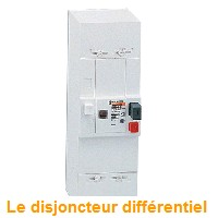 le disjoncteur diff rentiel interrupteur diff rentiel cours d 39 electrom canique. Black Bedroom Furniture Sets. Home Design Ideas