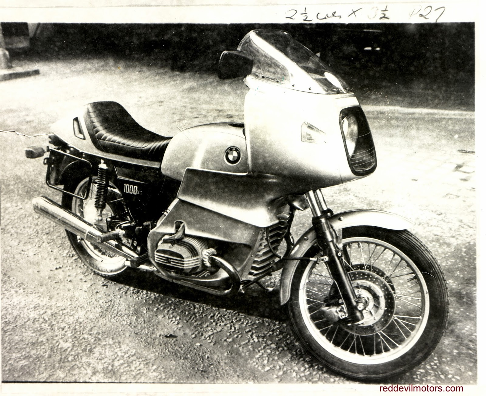 BMW R100RS motorcycle 1976 1977