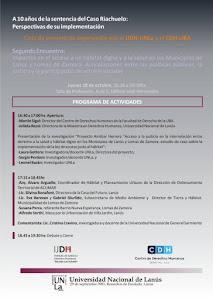 AGENDA RIACHUELO
