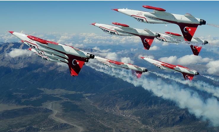 Türk hava kuvvetleri nin 100 cü yılı sebebiyle yıl boyunca