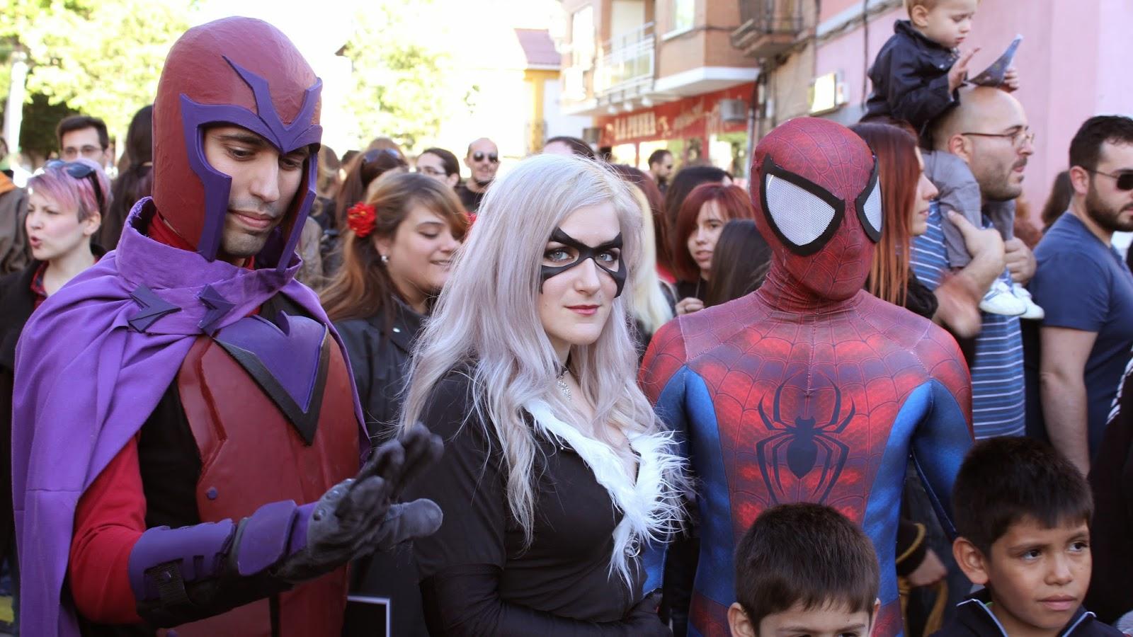 Spiderman fuenlabrada