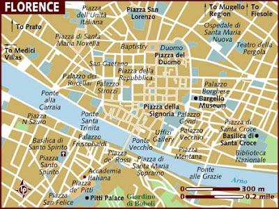 Mappa Politica di Firenze