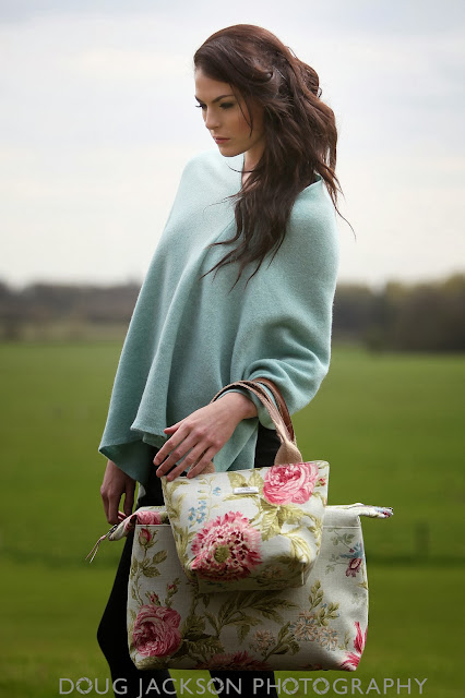 Umpie bags fashion - photo shoot yorkshire