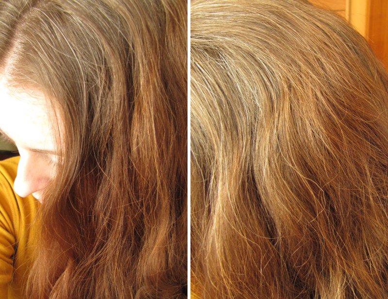 henna na barvené vlasy