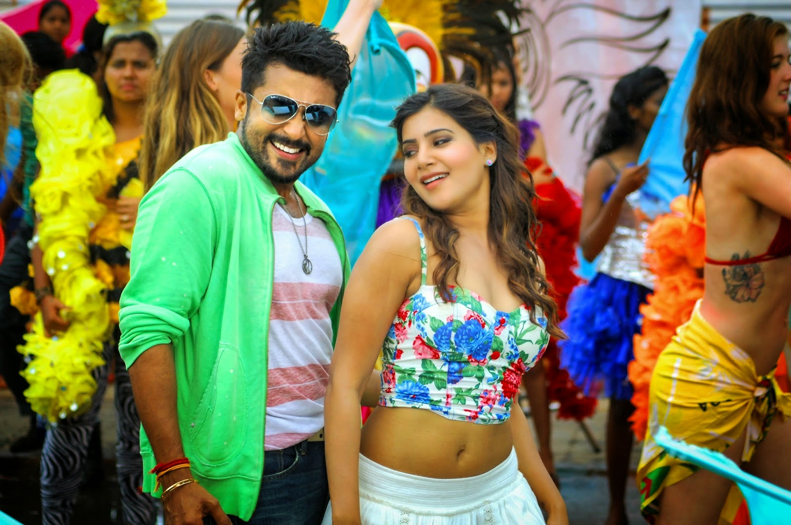 Samantha Latest Stills in Sikindar Movie | Anjaan