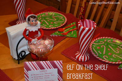 Elf on the Shelf First Day Breakfast