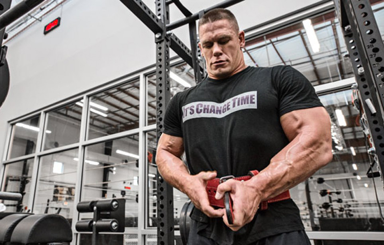 John Cena on Body Building