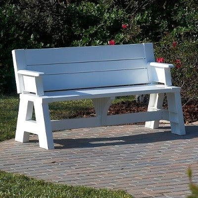 Bench furniture ideas bench that turns into a table Picnic table that turns into a bench