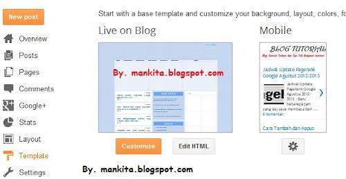 Edit, HTML, Redirect, Otomatis