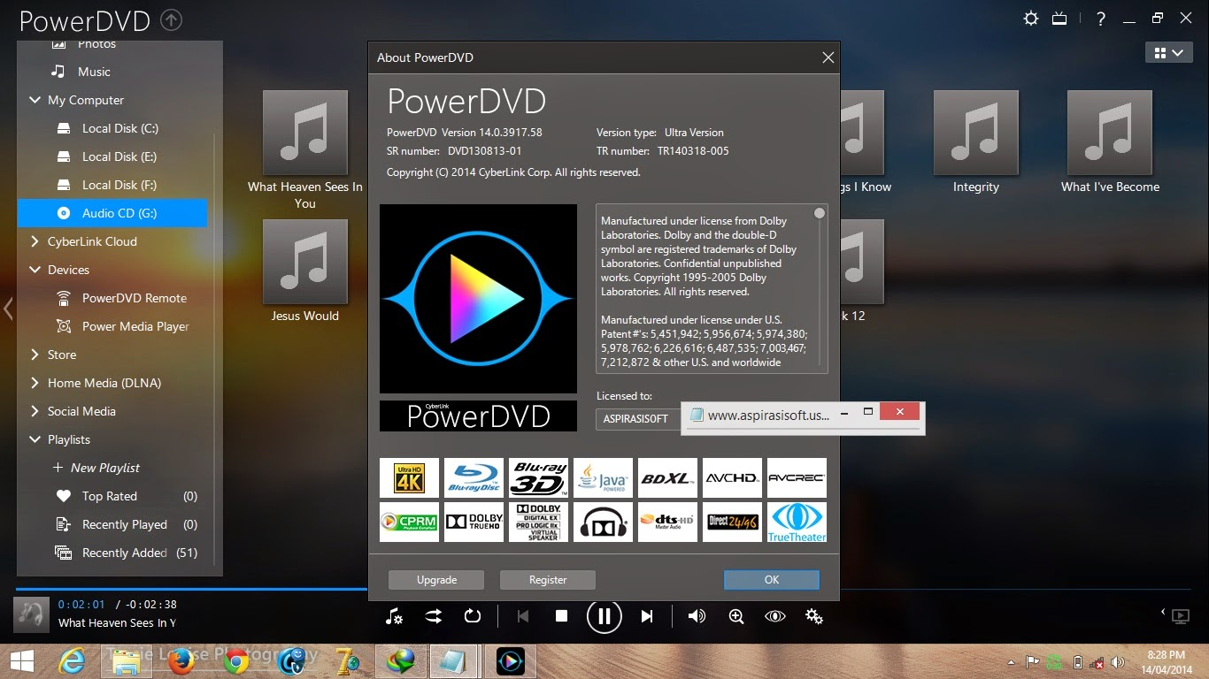 Cyberlink PowerDVD 14 Ultra Full Crack - MirrorCreator