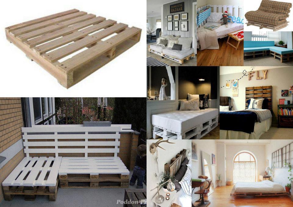 El detalle que hace la diferencia eco creatividad detalles ecologicos y economicos para decora - Mobiliario con palets ...