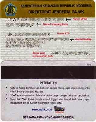 Kartu NPWP - Tutorial Pendaftaran Online Terlengkap [Updated 2015]