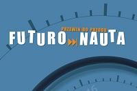 """Fragment okładki publikacji """"Futuronauta"""" wydanej przec CITTRU"""
