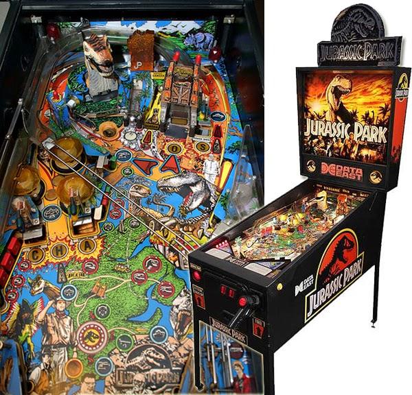 Pinball Jurassic Park