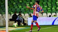 Diego Costa celebra el gol que sentenciaba la eliminatoria