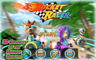Rocket Racer v1.0.2 Mod Apk (Mod Money) 1