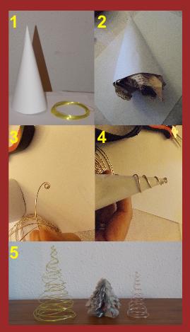 Como hacer árbol de alambre de aluminio