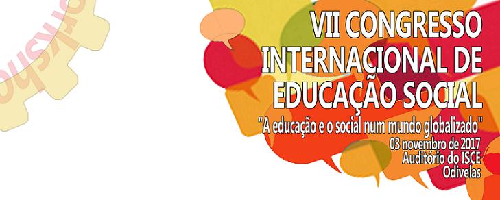 VII Congresso Internacional de Educação Social