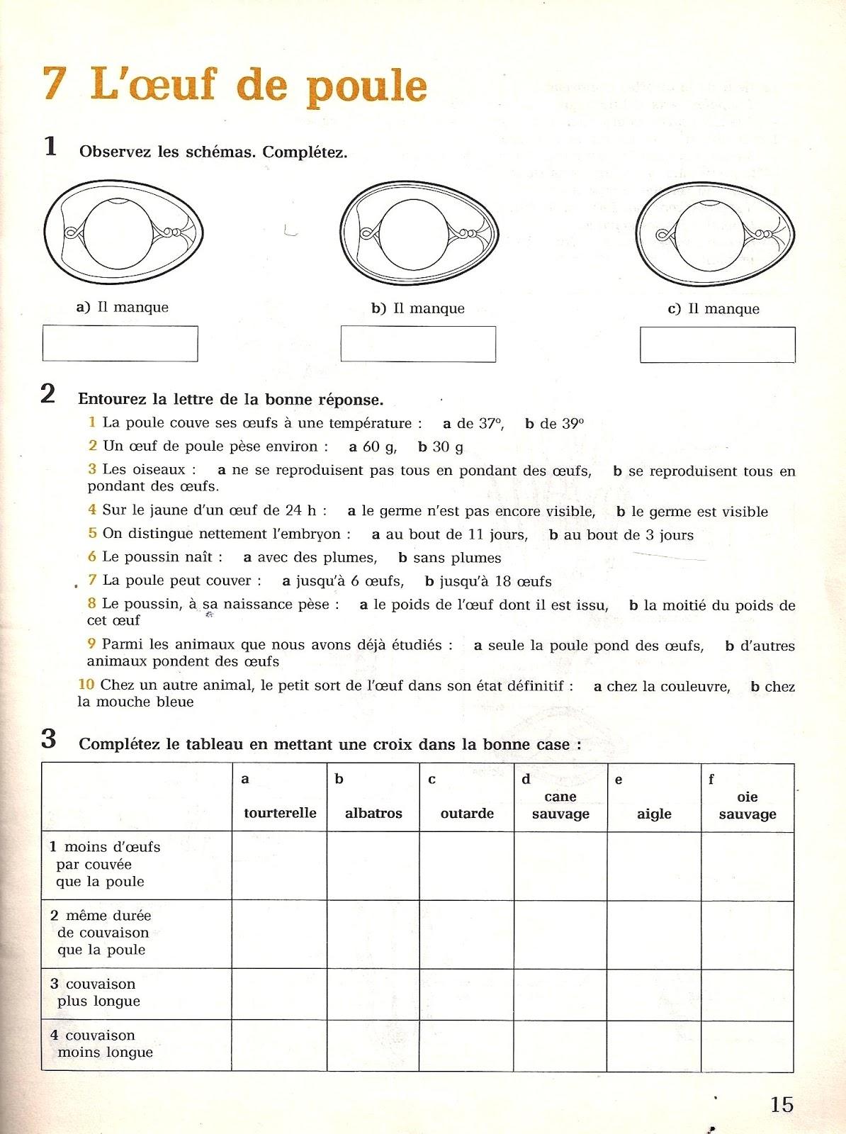 Manuels anciens 7 l uf de poule for Oeuf de poule conservation