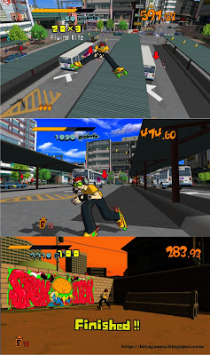 Screen - Jet Set Radio HD