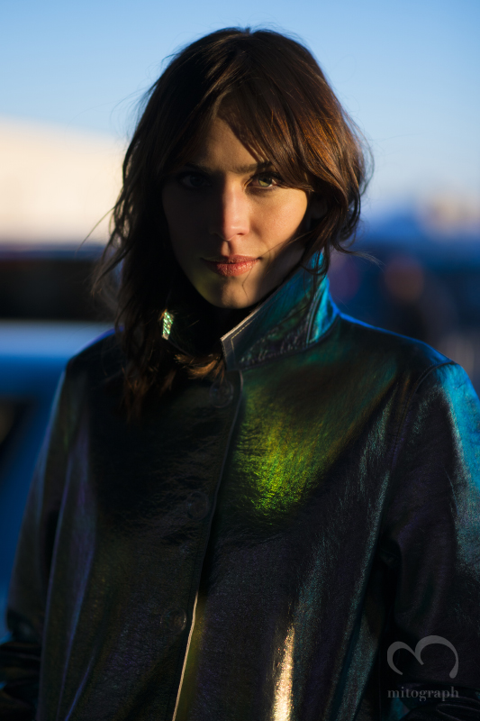 Model Alexa Chung at Marc by MarcJacobs 2014 Fall Winter Show at New York Fashion Week