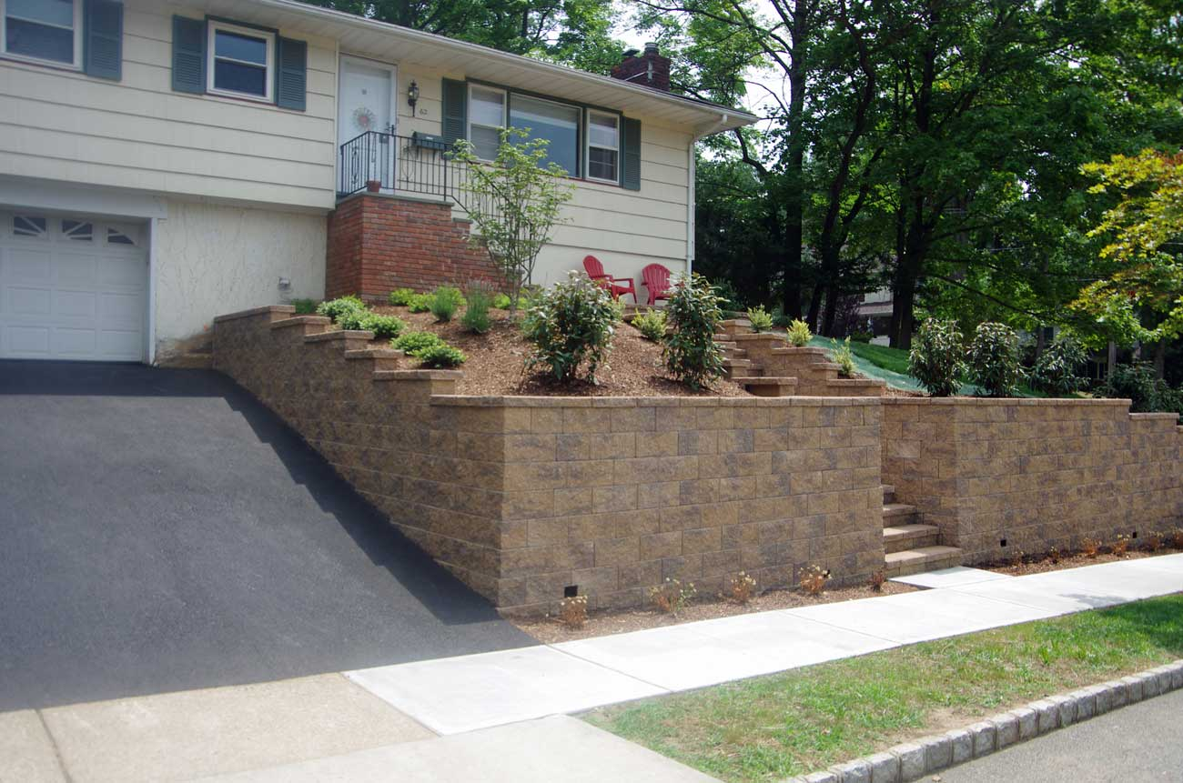 CornerStone Retaining Wall Blocks For Stairs Landscaping