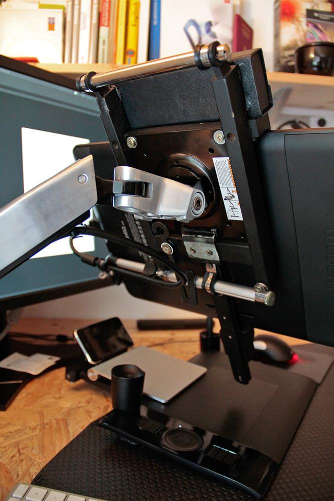 Setting Up The Wacom Cintiq 13hd With Ergotron Lx Arm
