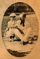 Edmund Rawson and his youngest daughter Dorothy