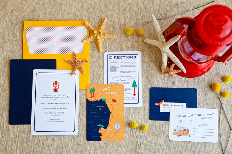 Real Wedding Emily Don Colorful Quirky Beach Wedding