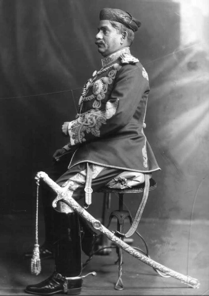 Maharaja of Baroda Sir Sayajirao III Gaekwad - 1910