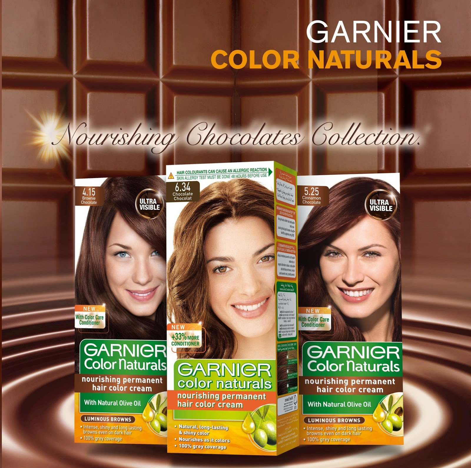 Press Release New Range Of Garnier Color Naturals Nourishing Chocolates Collection At Interactive Eid Mall Animation