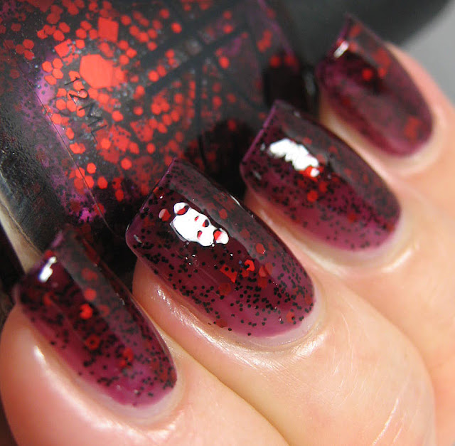 alanna renee black cherry swatch and review