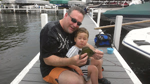Max's first fish! August 12th, 2012