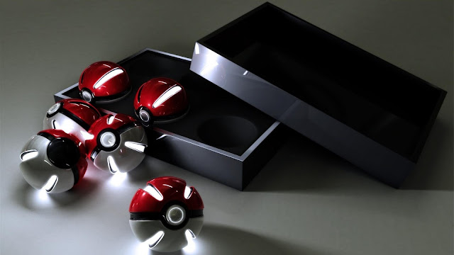 3D Pokeballs Pokemon
